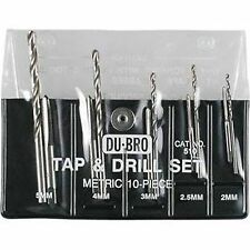 Metric Tap & Drill Set Du-Bro Tool for Remote Control hobbies DUB510