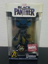 Funko Wacky Wobbler Marvel Collector Corps  CHASE Black Panther! GITD! FREE SHIP