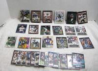 Lot of 33 NFL Player Trading Cards VINTAGE Topps Fleer Bowman Upper Deck Sleeved