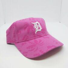 Youth Kids New Era 9twenty adjustable Strapback  hat Detroit tigers pink