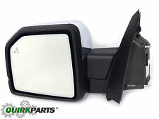 2015 2016 Ford F150 Left Driver Side View Mirror With Power Fold Blind Spot OEM