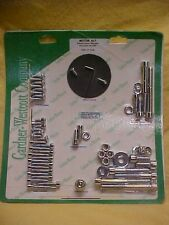 Shovel head,77-84 complete Engine bolt kit, chrome, allen head,ignition cover
