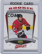 2006-07 UPPER DECK MVP DUSTIN BYFUGLIEN RC UD ROOKIE #332 BLACKHAWKS