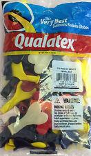 "Qualatex 6"" Jewel Heart Assortment Balloons~100 ct."