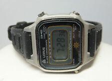 NOS 1990s Lorus by Seiko Ladies/Kids Alarm/Chronograph Digital Watch Ref. RER009