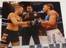 Liz Carmouche Signed UFC 157 16x20 Photo PSA/DNA COA v Ronda Rousey Poster Auto