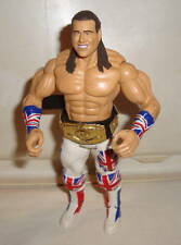 Wwe Wwf Jakks British Bulldog Davey Boy Smith W/ Belt Classic Superstars