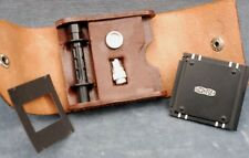 MEOPTA TLR 35MM CONVERSION KIT IN CASE - COMPLETE? FREE USA SHIPPING