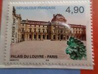 FRANCE 1998 timbre 3174, PALAIS LOUVRE, EMISSION AVEC CHINE, neuf**, MNH