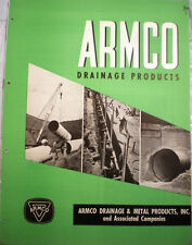 ARMCO Drainage & Metal Products Inc Catalog ASBESTOS Bonded Metal Pipe 1946