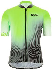 Santini Terra Men's MTB Cycling Jersey in Green - Size L