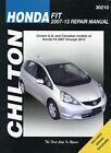 Honda Fit Repair Manual by Chilton: 2007-2013 #30210