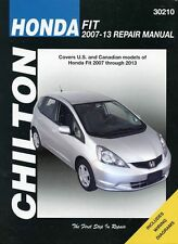 Honda Fit Repair Manual by Chilton: 2007-2013 #30210