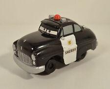 "2008 Geotrax Geo Trax Sheriff Police Car 4.5"" Fisher-Price Mattel Disney Cars"