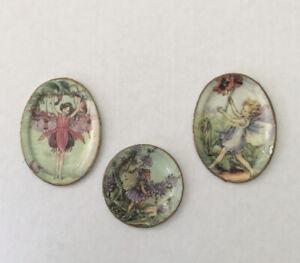 Set Of Three Dolls House Decorative Plates