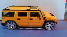 JADA DUB CITY 2003 HUMMER Yellow 1/24 DIECAST 505409