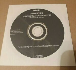 New fast Access Facial face Recognition Software sealed disk Dell