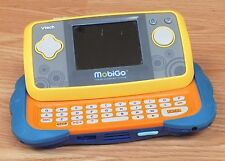Vtech Mobigo Blue & Yellow Handheld Touch Screen Learning System Only **READ**