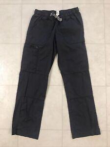 Wonder Wink Gray Women's Cargo Scrub Pants Sz XS Petite