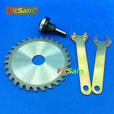 "FitSain-4"" 100mm circular saw blade wood cutter cutting disc Connecting rod 10mm"