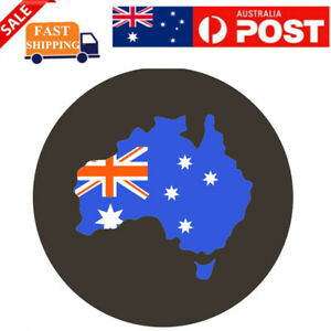 "15"" AUSTRALIA FLAG Spare Tire Cover Wheel Tyre Covers For All Diameter 70-75cm"