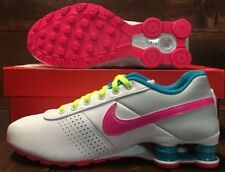 New NIKE SHOX Deliver SMS PS White Pink running shoes 616542-164 6Y  Womens 7.5