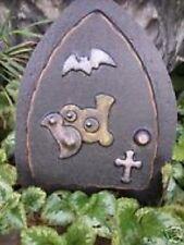 Halloween fairy door mold reusable casting plaster concrete resin mould