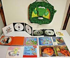 LOT DE 10 CD des TOUT-P'TITS +Petit sac à DOS