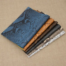 Snake Embossed Print Fabric 0.9mm Synthetic PU Leather Handbag Material Leather
