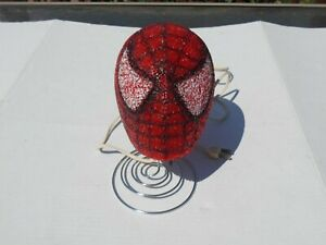 Marvel Spider man Bedroom Table Lamp Night Light Spider Man Head