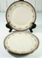 Lenox China Amethyst Pattern Dinner Plates Lot of 4 Plates 10 3/4 inches Euc