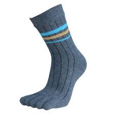 Fashion 1 Pair Mens Socks Cotton Middle Tube Sports Five Finger Toe Dress Socks