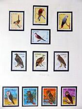 CONGO Republic oiseaux sur 7 pages U/M NB3587