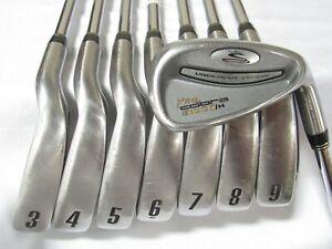 Used RH King Cobra 3100 I/H Iron Set 3-P Regular Flex Steel Shafts