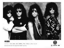 KISS - Promo Press Photo 1989 - BIG SIZE 24x18 cm - Eric Carr - Gene Simmons