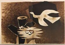 George Braque, Derrière Le Miroir, Nr10, vintage Original  Lithograph 1956
