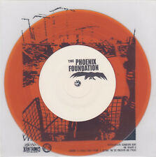 "The Phoenix Foundation - S/T 7"" ORANGE WAX FINLAND PRESS Stakeout Hardcore Punk"