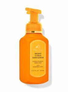 ( 4 pk set )  BRIGHT CITRUS SUNFLOWER foaming hand soap wash Bath & Body Works