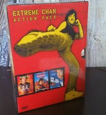 Extremem Jackie Chan Action Pack 3 Movie Collection 3 Disc Boxed DVD Sealed