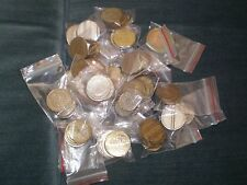 + 100 unique token Amusement, casino, transportation, telephone coins Huge Lot
