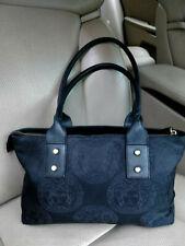 GIANNI VERSACE Medusa Vintage Leather Satchel Bag Shoulder Purse Monogram Stud