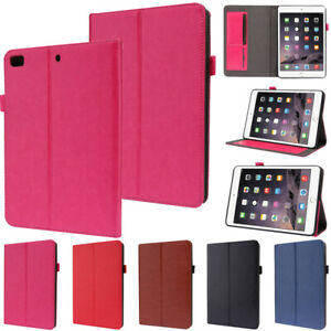 Folding PU Leather Wallet Smart Case Cover For iPad Mini 5 Air 2 9.7 5th 6th Gen