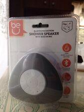 Ginsburg  Waterproof Wireless Bluetooth Handsfree Mic Car Shower Suction Speaker