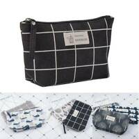 Cosmetic Bag Makeup Portable Toiletry Travel Wash Pouch Organizer Storage Case
