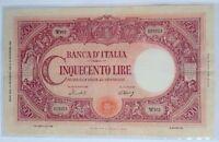 500 LIRE BARBETTI GRANDE C MEDUSA REPUBBLICA 14/11/1950 conservazione BB+/SPL-