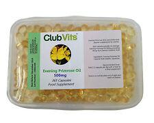 Club Vits - Evening Primrose Oil 500mg - 365 Capsules