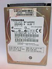 "DISCO DURO HDD TOSHIBA MK1665GSX 2.5"" 160GB AVERIADO FAULTY"