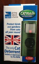 RSPB APPROVED CAT WATCH DETERRENT REPELLER CATWATCH SCARER ULTRA SONIC PEST