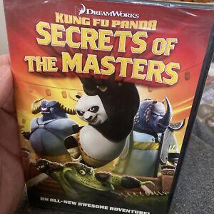 Kung Fu Panda: Secrets of the Masters - (DVD, DreamWorks) - NEW