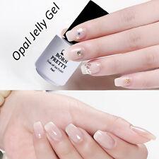 5ml BORN PRETTY Opal Jelly Gel Nail Art UV Polish White Soak Off Varnish DIY